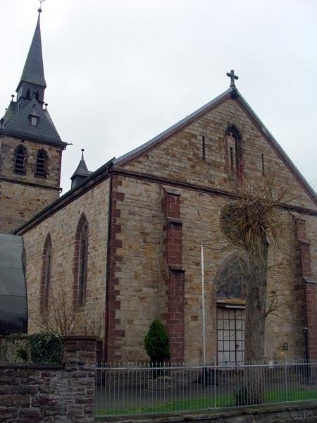 Die Kirche in Würgassen