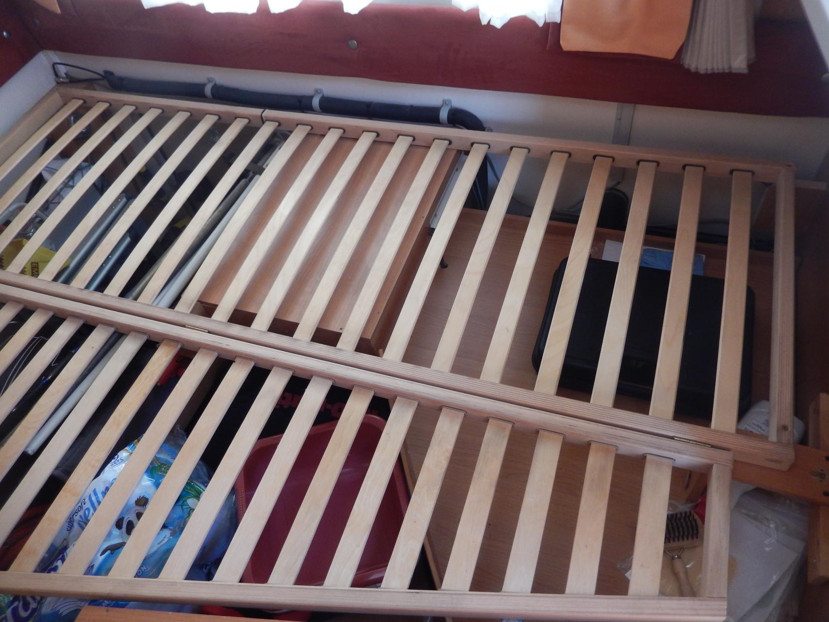 so, wieder mal Bett auseinander bauen
