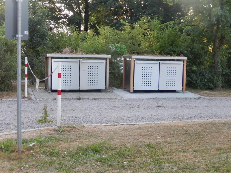 Müllstation
