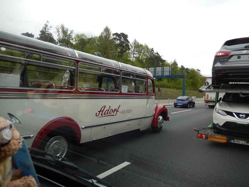 Auf der Autobahn.......