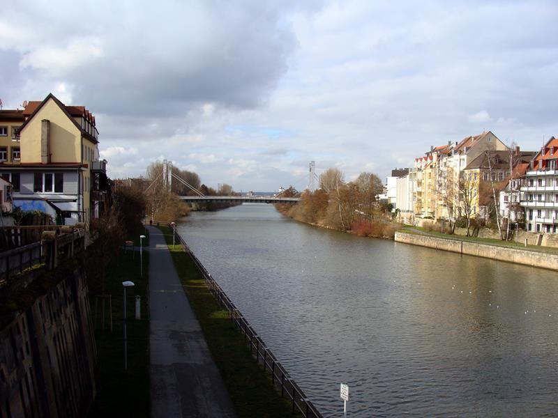 In Bamberg angekommen, schauen wir uns erst mal die Stadt an.