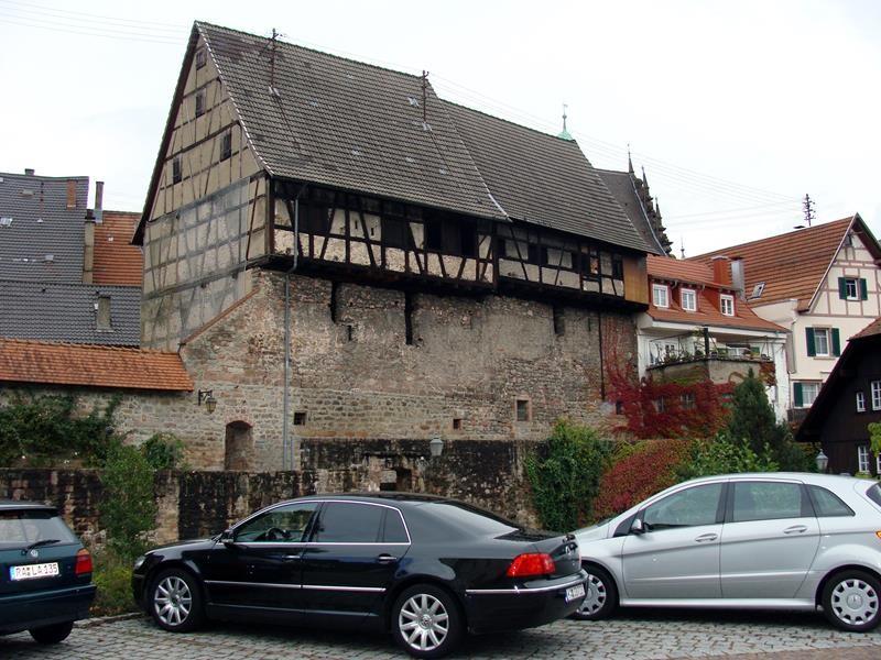 Sehr alte Häuser