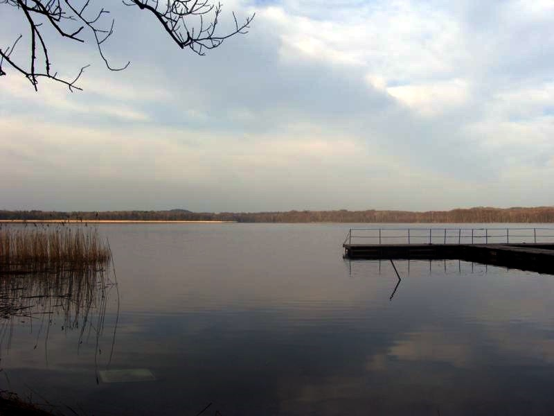 Sehr schön, der See.