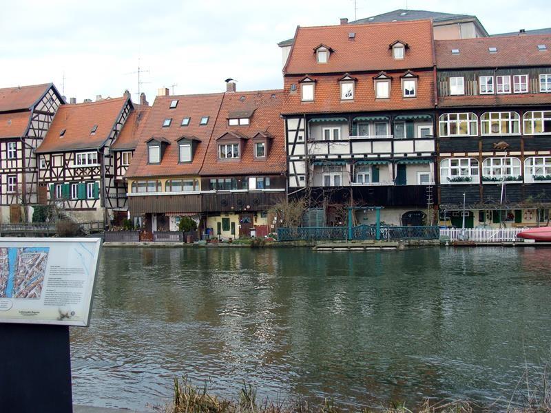 Die ehemahlige Fischersiedlung wird auch Klein Venedig genannt