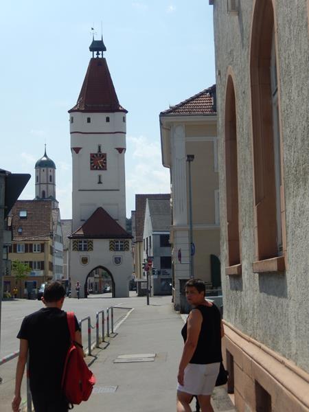 Kleiner Stadtrundgang mit Peter. Das Ulmer Tor.