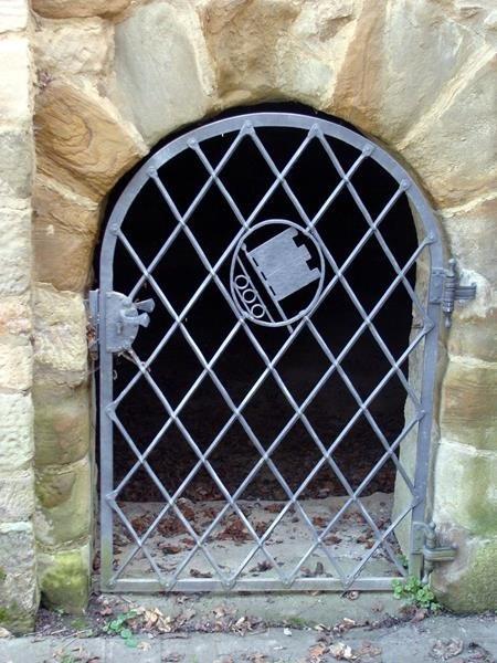 Ein Kellergewölbe