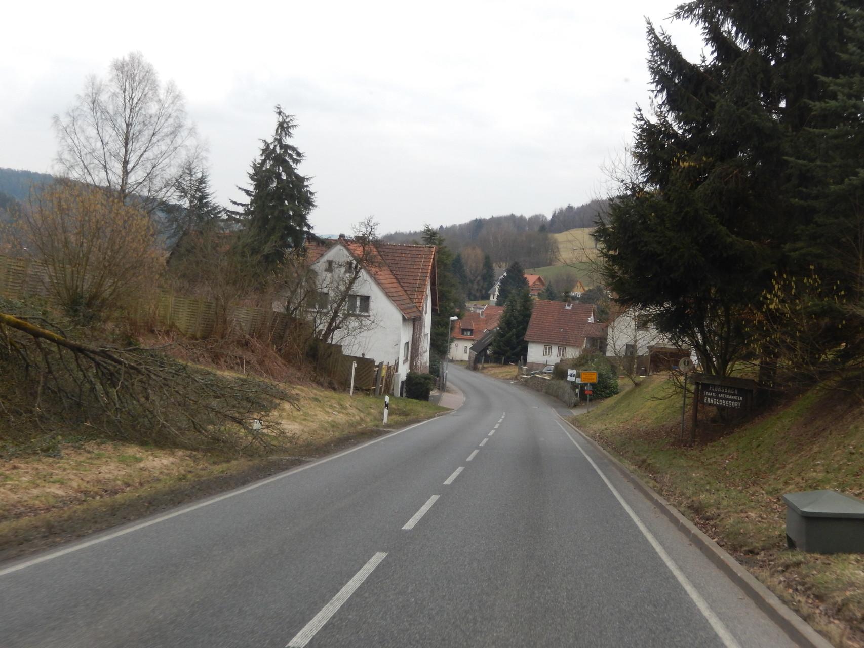 Wir kommen nach Flörsbach. Hier in der Nähe, in Lohrhaupten, ist ein schöner Stellplatz.