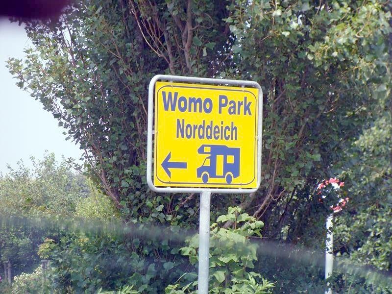 Der Womo-Park....wir fahren weiter