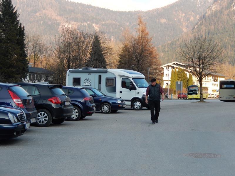 Horst-Pferdinand geparkt - los gehts