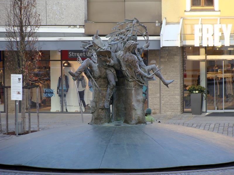 Der Marktplatzbrunnen