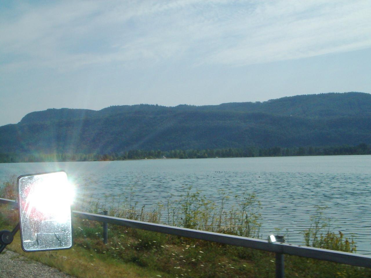 Auf der Fahrt mach ich noch ein paar Bilder von der schönen Landschaft.