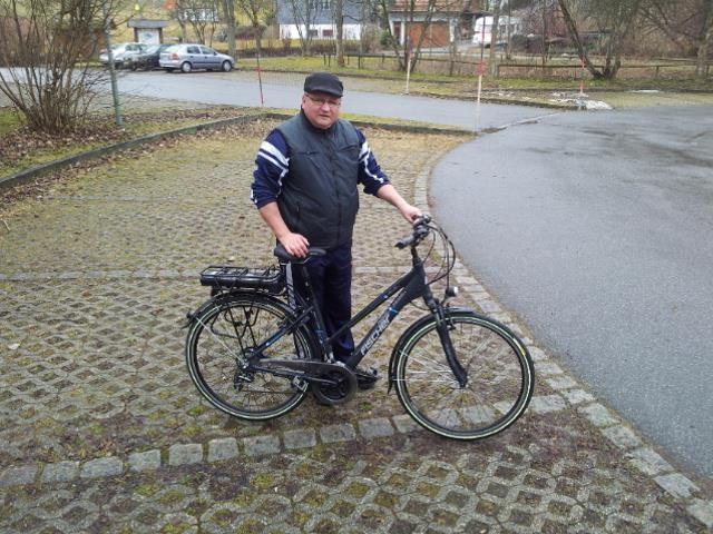 Die Beweisbilder, dass Dirk im Urlaub Fahrrad gefahren ist. ;))
