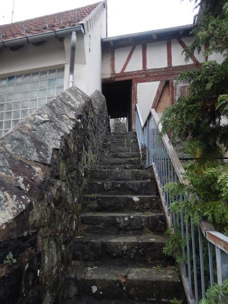 Viele enge Stufen