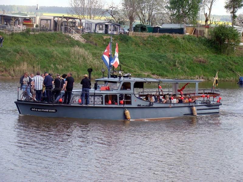 Osterfahrt auf der Weser