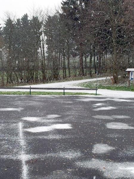 Schnee....der erste Schnee.
