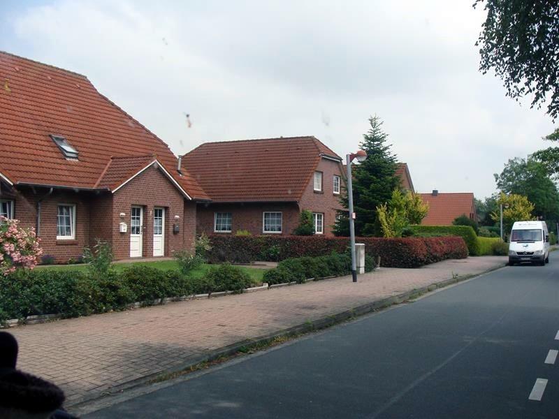 Die Wohnviertel sind alle sehr gepflegt.