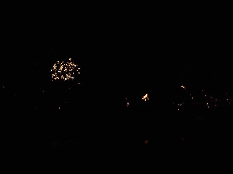 Das Feuerwerk war ein Highlight. Panoramafeuerwerk....so was haben wir noch nie gesehen.