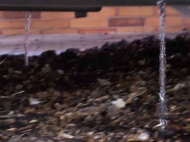 Siehe da, aus allen Luftlöschern läuft das Wasserr aus