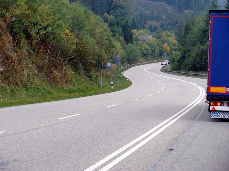 Auf der Fahrt von Bad Dürrheim nach Breisach