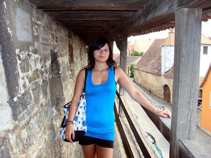 Und dann kommt Lisa noch mal aufs Bild. :))