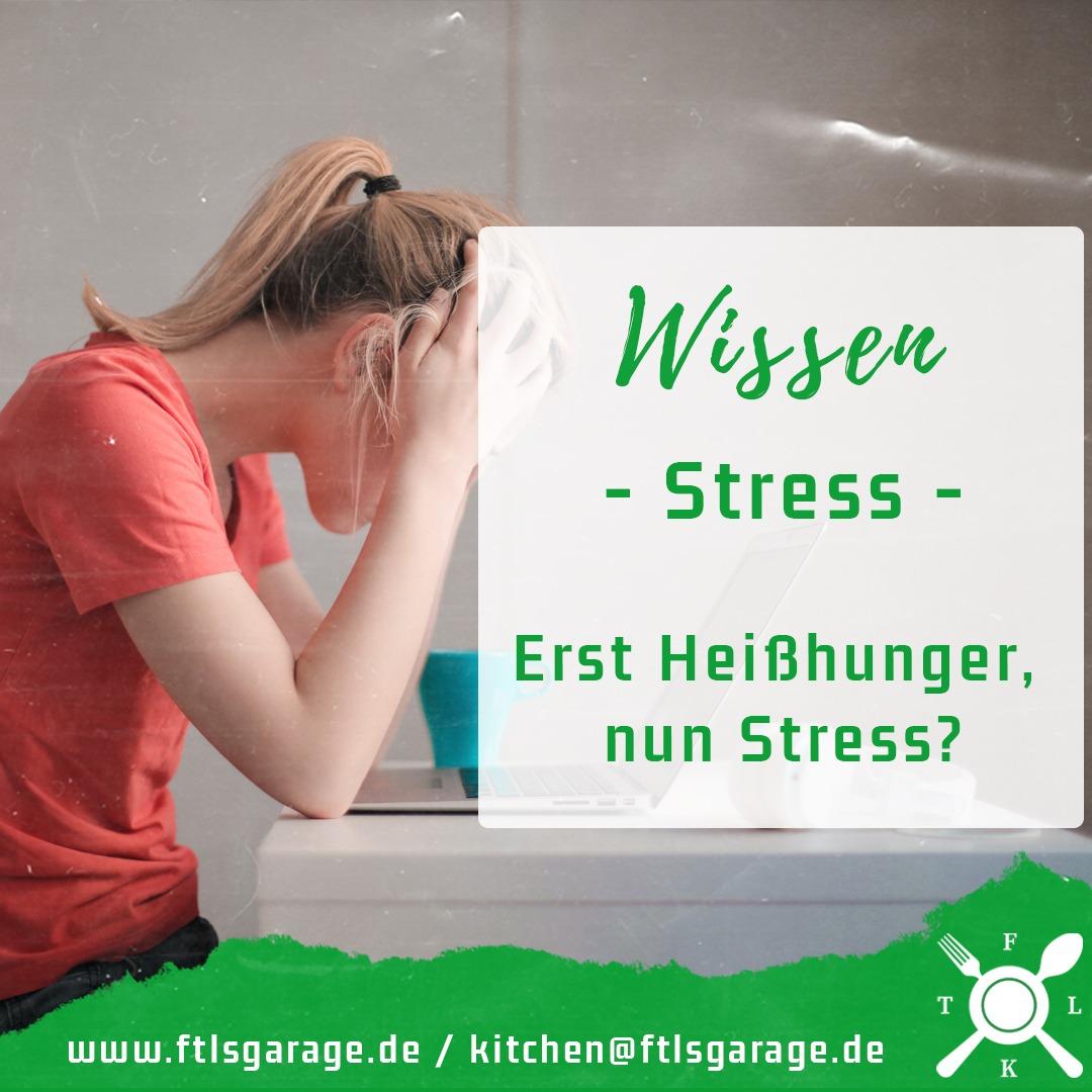 Stress - Wie hängt er mit Heißhunger zusammen?