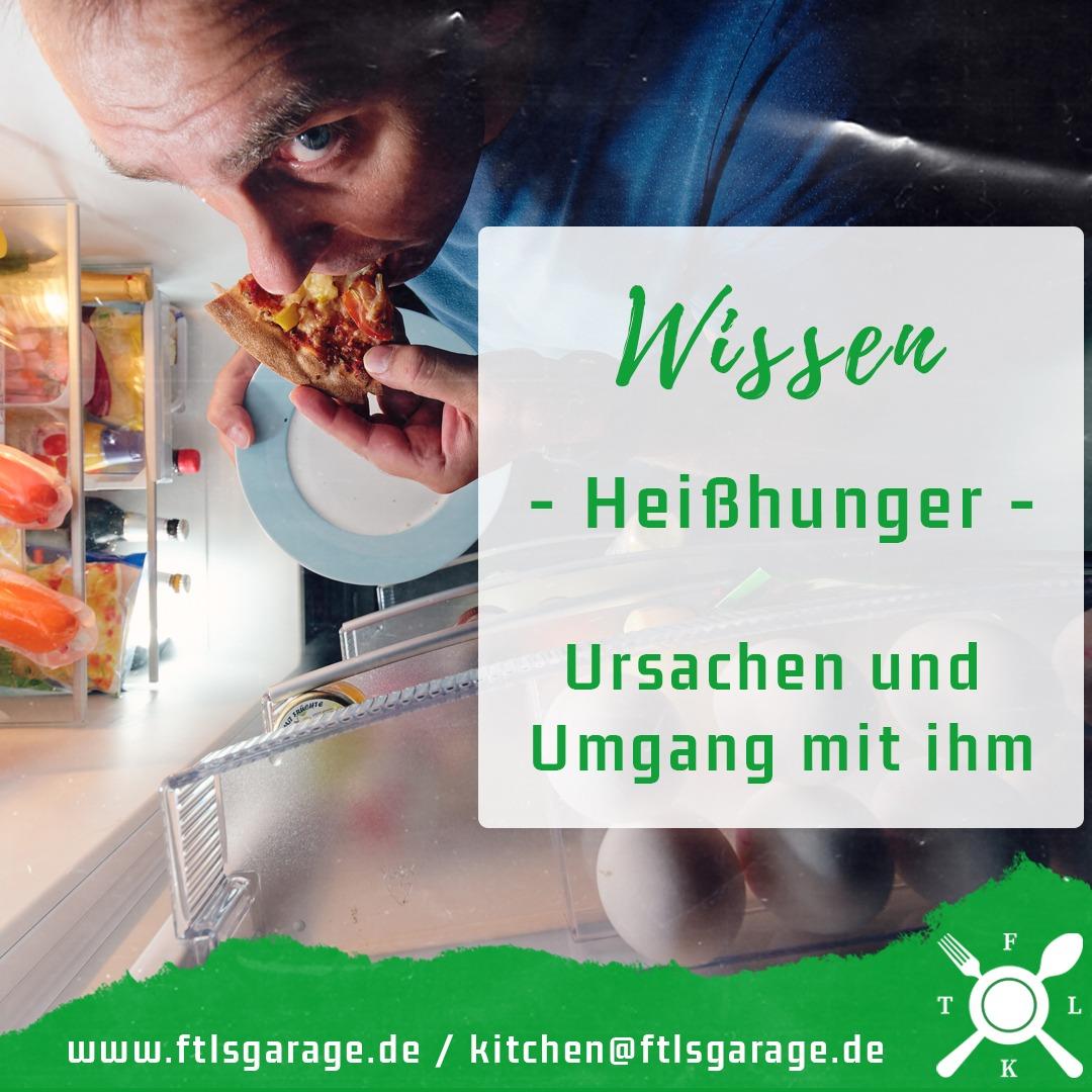 Heißhunger – Ursachen, Auslöser und Lösungen