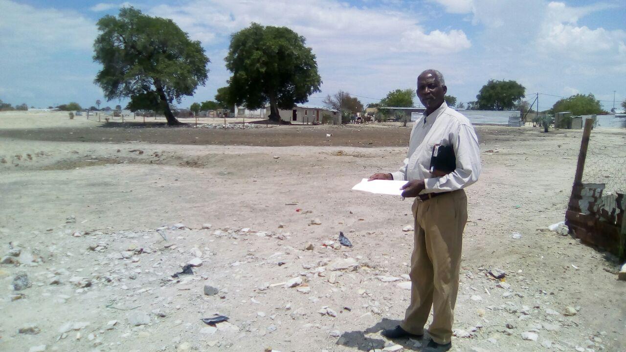 Em conjunto com as entidades locais, foi possível construir uma casa de oração provisória.