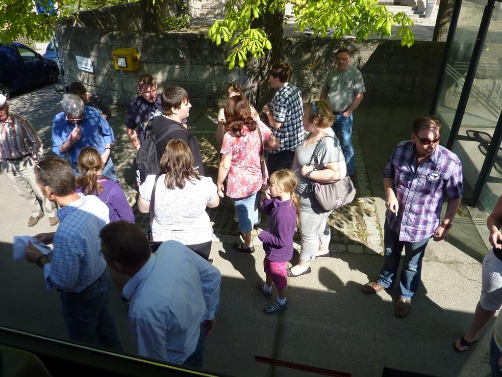 Aufbruch nach Rothenburg ob der Tauber