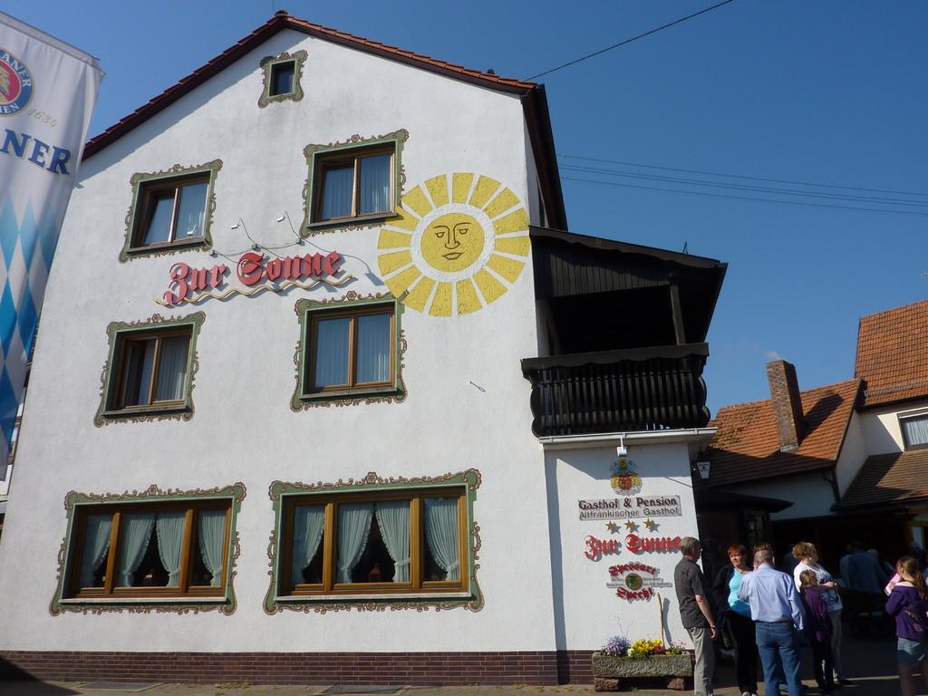 """Unser Quartier Gasthof und Pension """"Zur Sonne"""""""