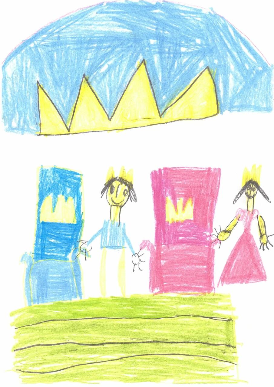 Der Königssohn und die Prinzessin