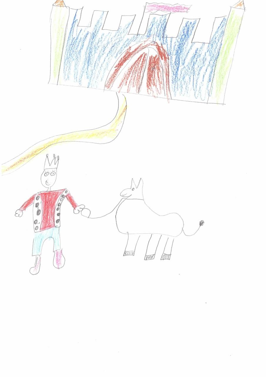 Der König und das Eselein