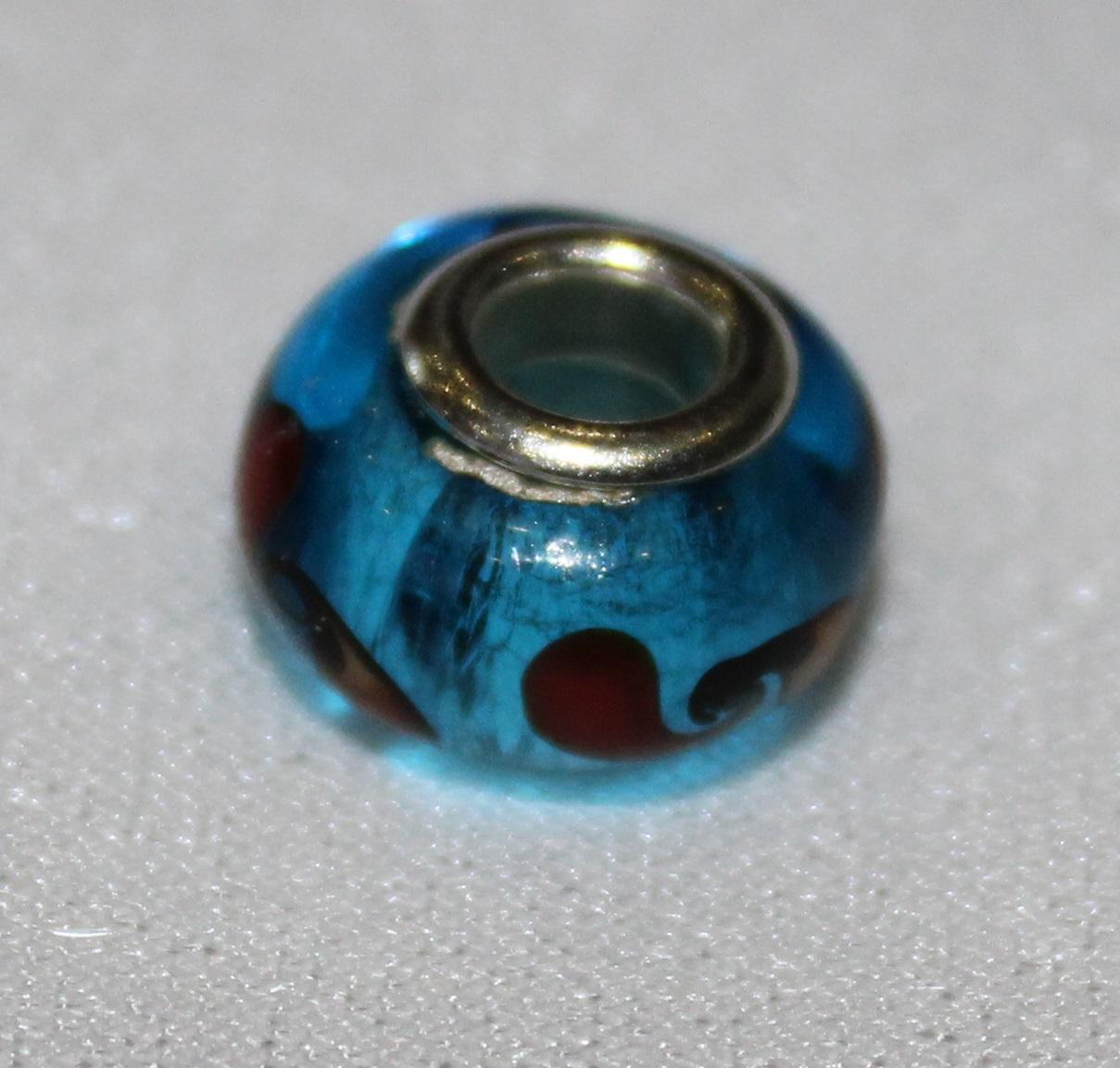 #15 hellblau mit rot