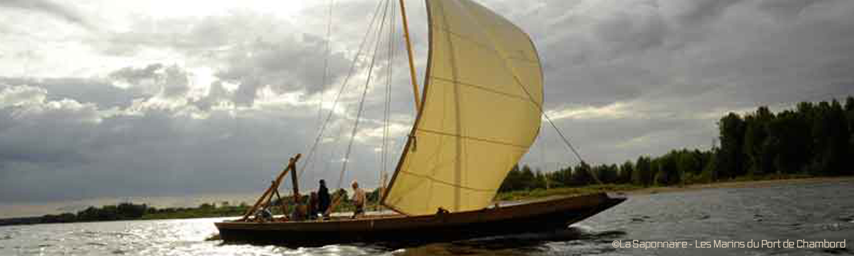 Balade sur la Loire avec les Marins du Port de Chambord