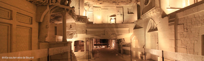 La ville souterraine de Bourré