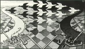 Escher, Day-Nigt