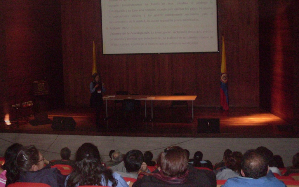 Lira Ph en Formación e información 2009