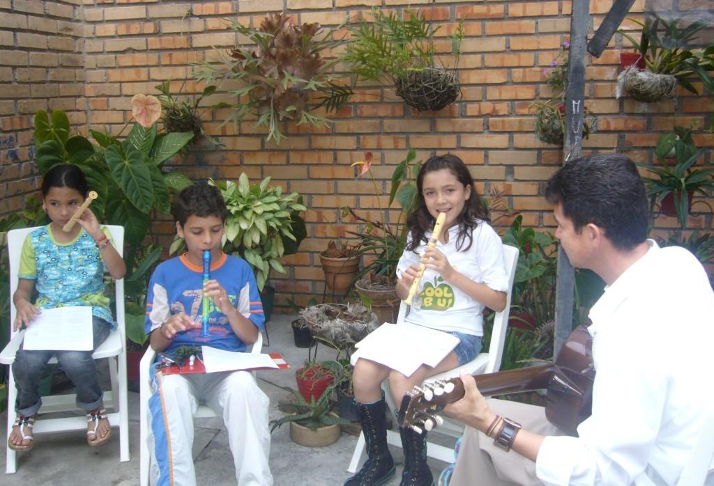 Ensambles musicales de flauta. Infantiles y juveniles.