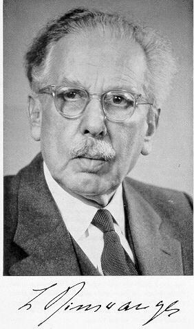 Ludwig Binswanger. Psiquiatra Suizo. Pionero en el campo de la psicología existencial. 1881 - 1966
