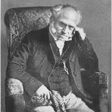 """Arthur Schopenhauer. """"Pensar hasta el final"""" Filósofo alemán. 1788 Polonia - 1860 Alemania"""