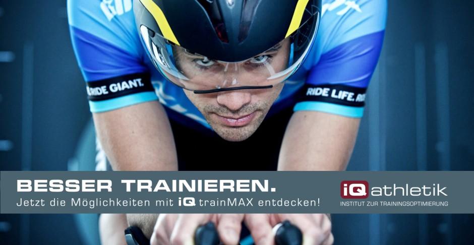 Leistungsdiagnsotik, Trainingsplanung, Online-Coaching, Bikefitting mit iQ trainMAX