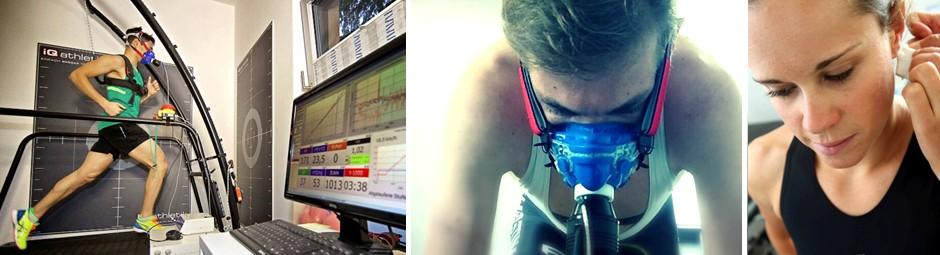 Spiroergometrie mit Laktatdiagnostik auf dem Laufband oder auf dem Fahrradergometer