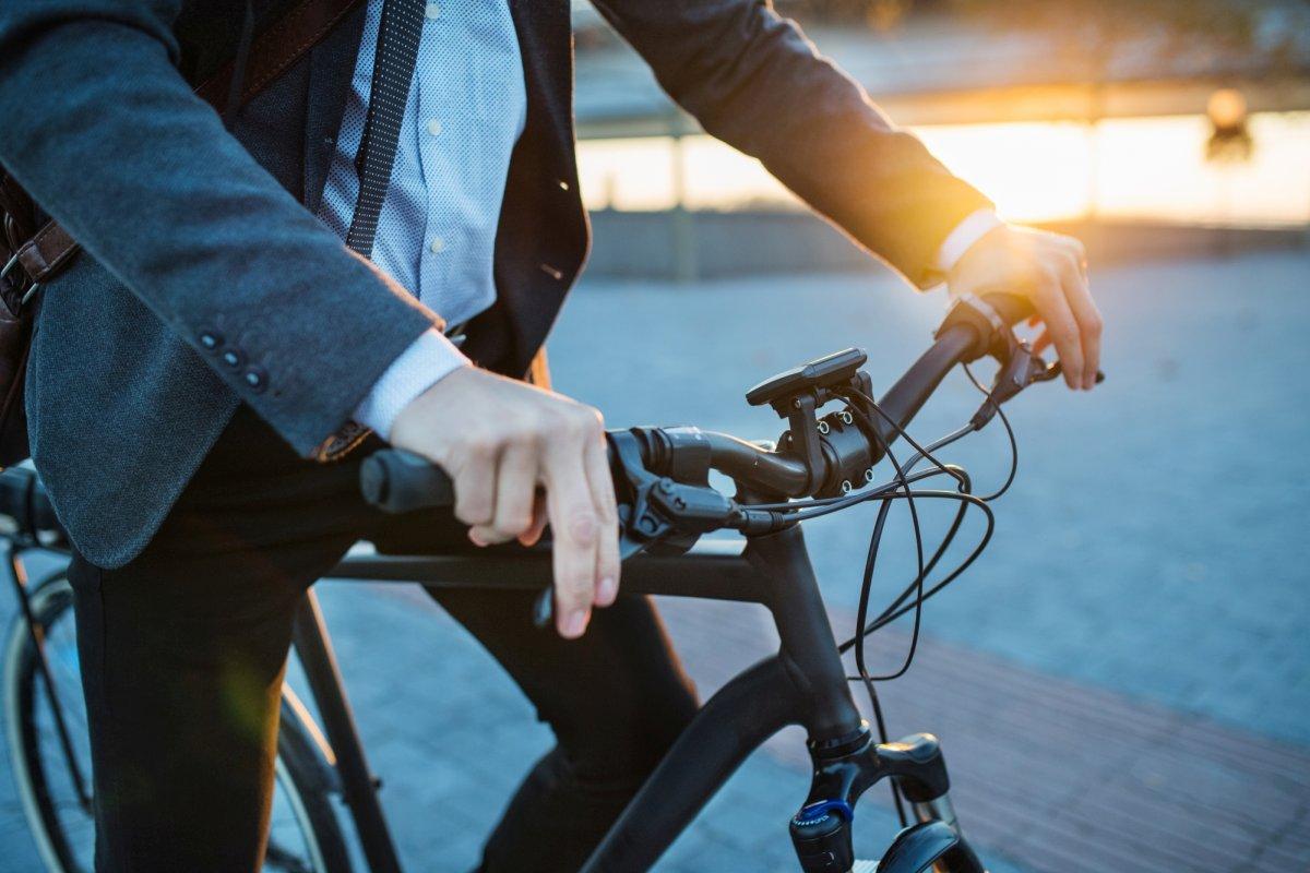 Auch für Pendler ist die richtige Sitzposition auf dem Rad wichtig