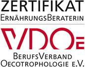 Ernährungsberatung VDOe zertifiziert