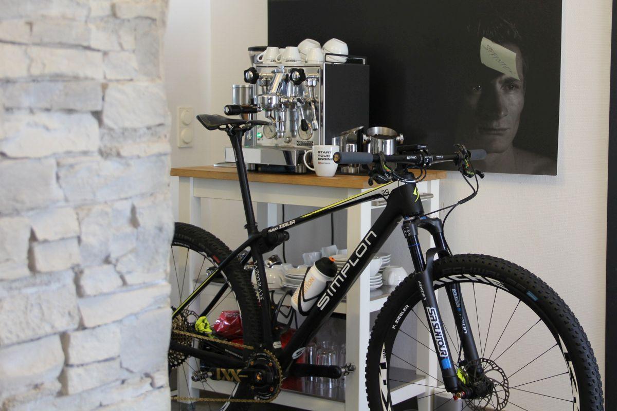 Ready to rumble: fertig gefittetes Mountainbike im gebioMized concept-lab Frankfurt