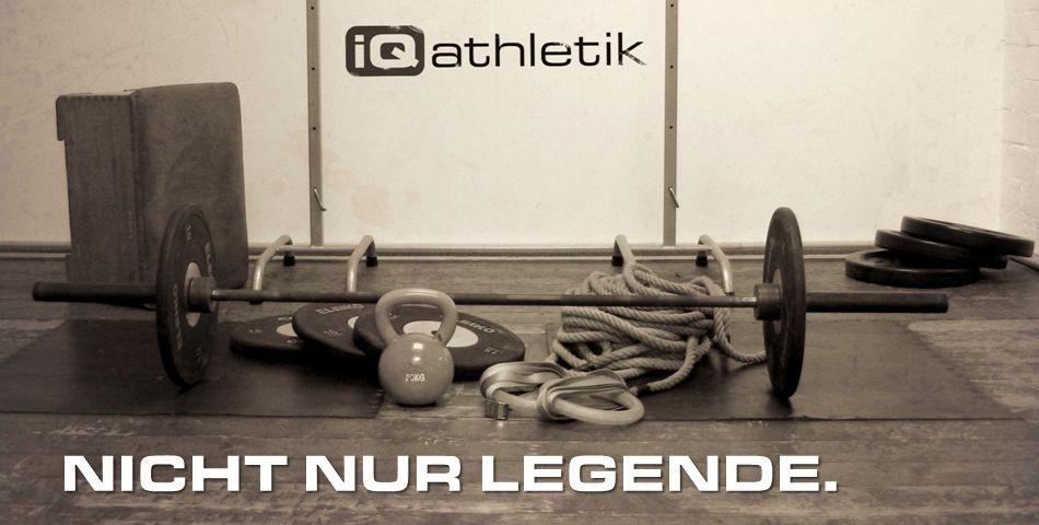 iQ athletik - nicht nur Legende. Das Institut zur Trainingsoptimierung gibt es wirklich!