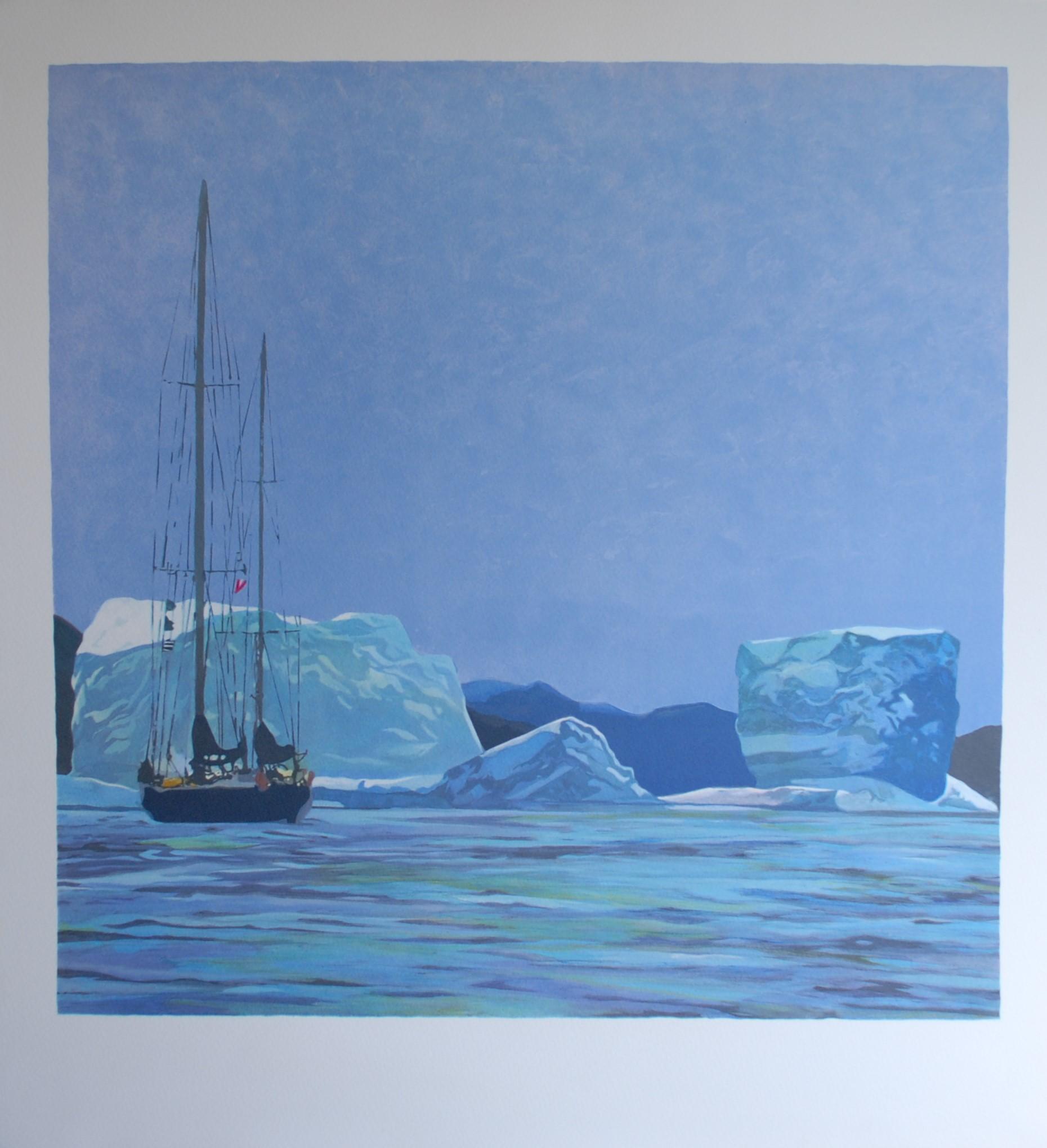 "Sonderpreis: ""Schiff Penduick 6 zum Nordpol"" Jean-Michel Machet"