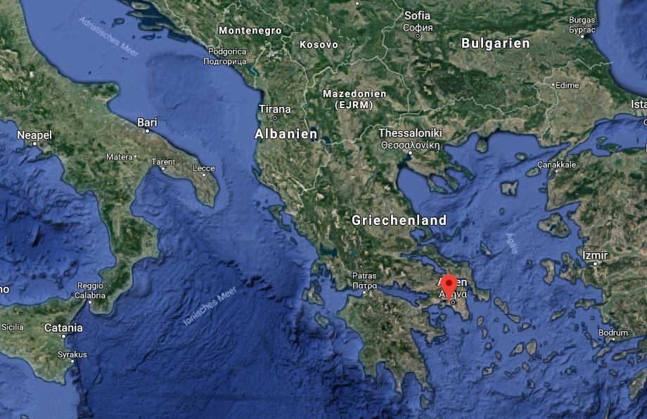 Hafen von Piräus, Athen (Griechenland)