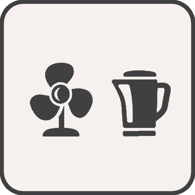 Ventilator & Wasserkocher
