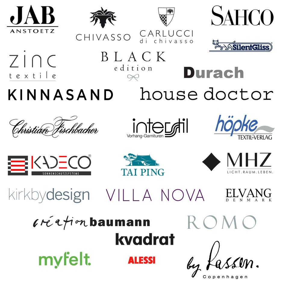 erstklassige Marken in der Raumgestaltung