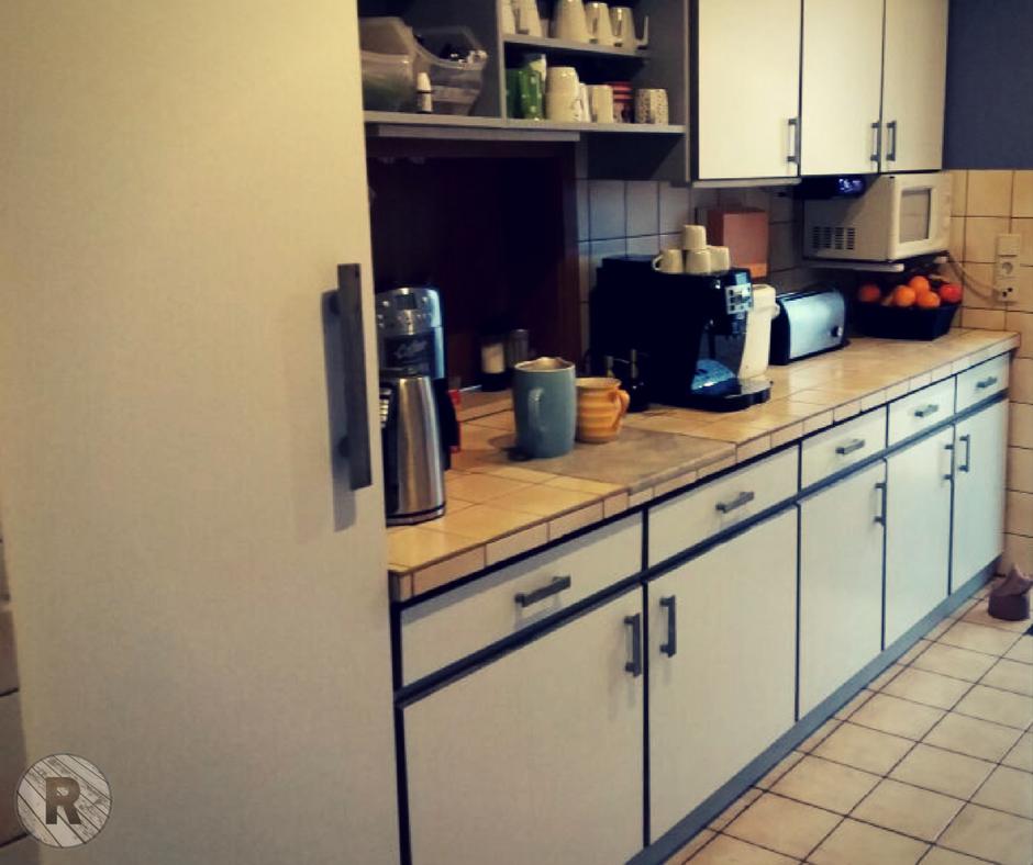 Verwertung + Neugestaltung einer alten Küche